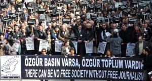 Türkiye cezaevlerinde 154 gazeteci var