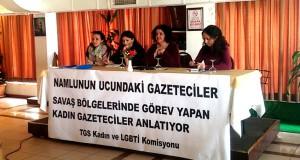 TGS'li kadınlar hazırladıkları raporu paylaştı