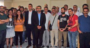 TGS Diyarbakır Temsilciliği açıldı