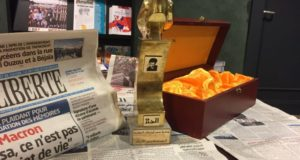 Sendikamıza uluslararası bir ödül daha!